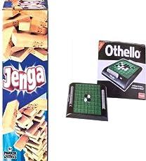 Funskool Jenga + Othello