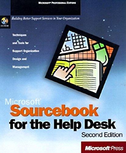 SOURCEBOOK FOR THE HELP DESK - 2 ED.