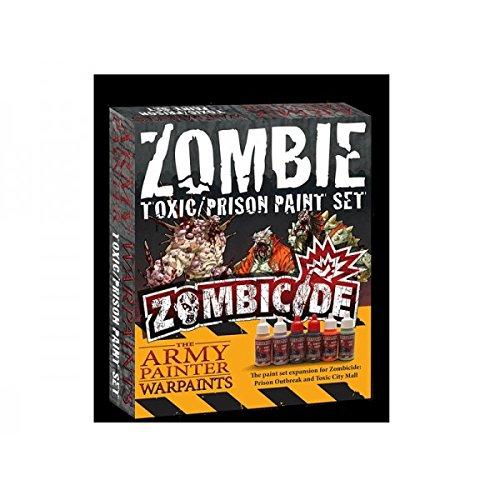 Edge - Zombicide - The army Painter - Zombie Toxic / Prison Paint set - 0583215029108