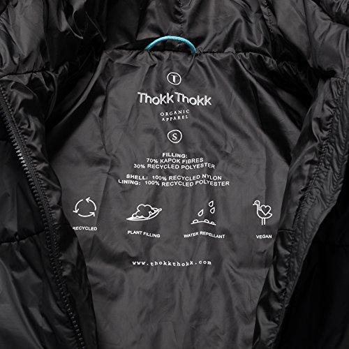 THOKKTHOKK Damen Weste und Anorak Kapok Schwarz 2er Pack, Größe:XL - 5