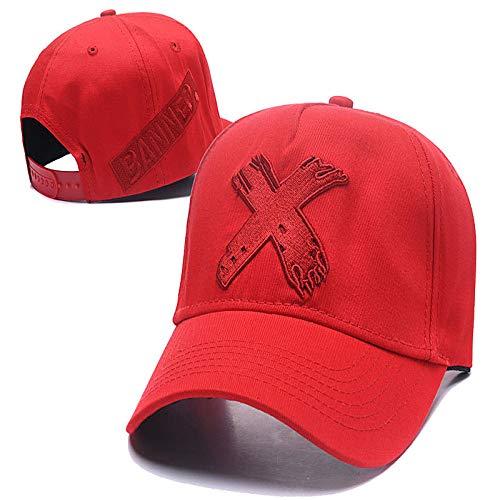 woyaochudan Ente Zunge flach entlang der Trendfreizeit Flache Kappe Baseballmütze Hip-Hop-Hut Flut Taille Blume haarigen Brief Hut 3 (Soda Flasche Kostüm)