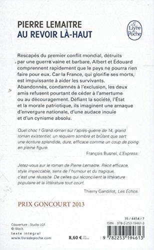 Au revoir là-haut - Prix Goncourt