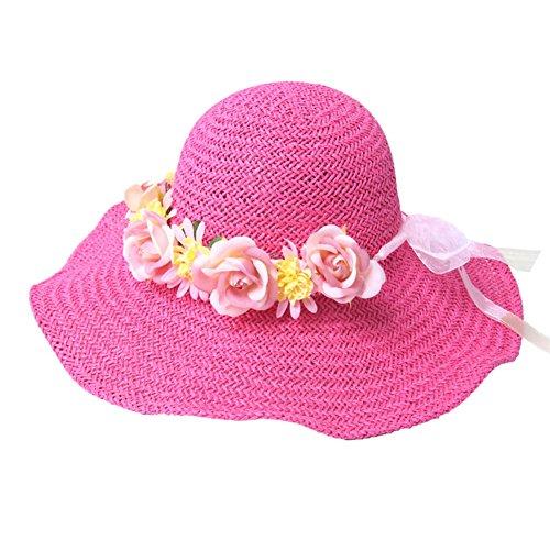 Visière de dames/Chapeau paille/Chapeaux de plage/Chapeau/Mesdames chapeau de soleil C