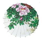 jellbaby Craft Regenschirm Dance Regenschirm klassischen Öl Papier Regenschirm Deckenleuchte Dekoration Regenschirm Requisiten Pfingstrose