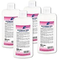 Meditrade Alcoman-Gel 4 x 500 ml Flasche Händedekontaminationsgel preisvergleich bei billige-tabletten.eu