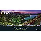 Weites Land 2017 - National Geographic Fotokalender, Posterkalender 2017, Landschaftskalender 2017, Panoramaformat  -  64 x 33 cm