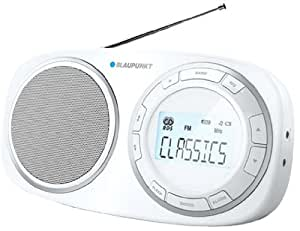 Blaupunkt BSD 9001 Radio Digitale PLL de Table FM(RDS) MW/LW/SW Blanc