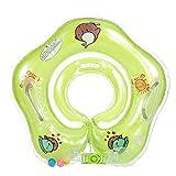 VSTON Baby Float Ring Neugeborenen Schwimmen Bad Ringe Sicherheit Sicherheits Hilfe Float Schwimmen Aufblasbare Floatation Ring (Grün)