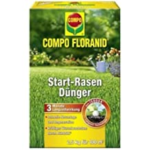 Compo floranid Start de césped para 2,5kg, volldünger, largo tiempo abono