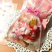 EQLEF® 12x18cm rosa e giallo piccola margherita