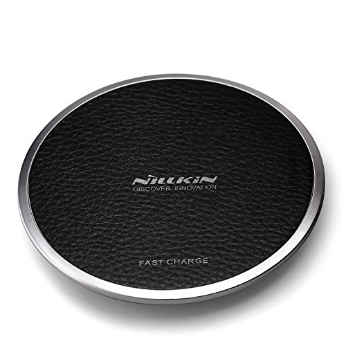 Caricatore wireless rapido, nillkin magic disk 3 qi fast wireless charger ricarica rapida 10w caricabatterie a induzione per iphone x/ 8/8 plus, samsung galaxy s9/ s9 plus/ s8/ s8 plus/note 8