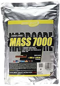 Best Body Nutrition Hardcore Glucides Mass 7000 900 g Fraise Banane