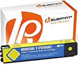 Bubprint Druckerpatrone kompatibel für HP 973X XL HP973X F6T83AE für PageWide Pro 452DN 452DW 452DWT 477DN 477DW 477DWT 552DW 577DW 577Z Gelb/Yellow