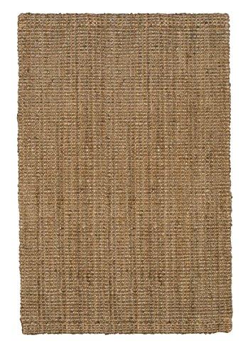 Jute & Co. Alfombra, Yute, Marrón Claro, 120 x 180