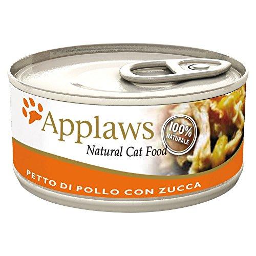 APPLAWS CAT lata comida natural pollo y 156 gr calabaza gato Comida mo