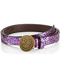 Scotch & Soda Glitter Belt with Smiley Buckle, Cinturón para Niñas