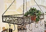 Kräuterkrone, Hängekorb, Metallkranz, 65cm x 40cm