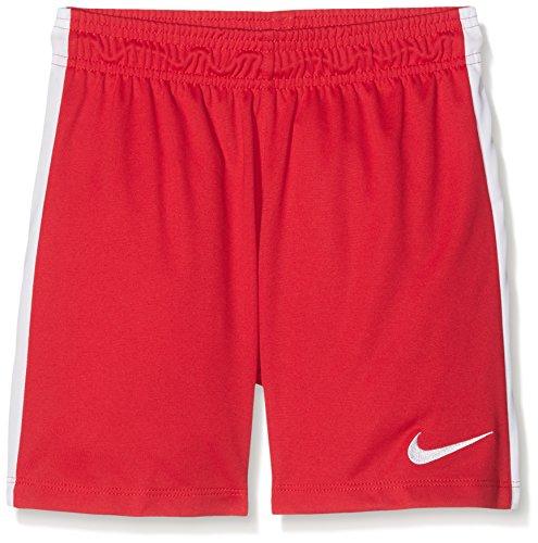 Nike Kinder Trainingsshorts League Knit, Rot, XS