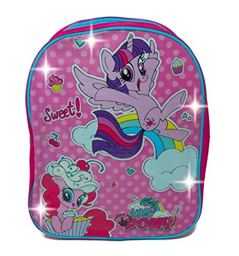 (My little Pony 1029hvl-6489LED Light up Rucksack, 31cm)