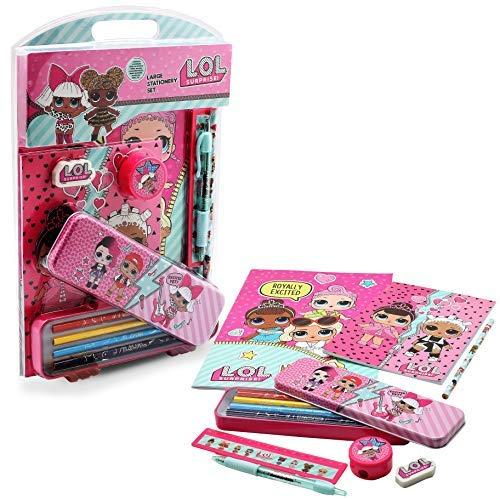 LOL Surprise! Set Papelería para Niñas Muñecas LOL Kit...