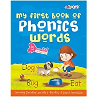 Jolly Kids My First Book of Phonics Words Key to Letter Sound Relationship| Learning the Letter Sounds| Blending| Word…
