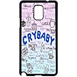 Cry Baby Song Art - Melanie Martinez Case / Color Black Rubber / Device Samsung Galaxy Note 4