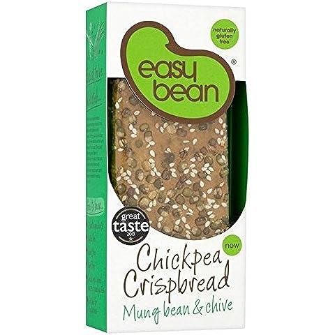 Easy Bean Ceci Croccanti Fagioli Mung & 110g Erba Cipollina (Confezione da 6)