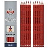 Kopierstifte Farbe: Rot von KOH-I-NOOR - 12 Stück