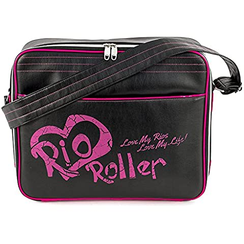 SFR Rio Roller Fashion Bag Black/Pink One Size