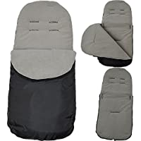 Footmuff / Cosy Toes Compatible with Silver Cross Grey