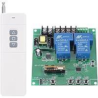 Relé de Conmutación Módulo de Relé de 2 Canales Tarjeta de Relé con Control Remoto Controlador CW / CCW de Motor AC 220V