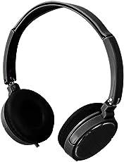 Kopfhörer Bluetooth Kabellos Noise Cancelling - Srhythm 71 Ear Kopfhoerer mit Mikrofon 4.2oz Ultraleicht Faltbar Stereo mit die Meisten Smartphones und Andere Bluetooth-Geräte (Schwarz)