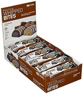Optimum Nutrition Protein Whipped Bites Bars- EiweißRiegel (mit 20g Eiweiß...