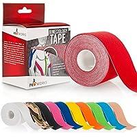 Yousave Accessories® Proworks Kinesiologie Tape [5cm x 5m Rollenlänge] Tape für Muskeln und Gelenke [Wasserfest... preisvergleich bei billige-tabletten.eu