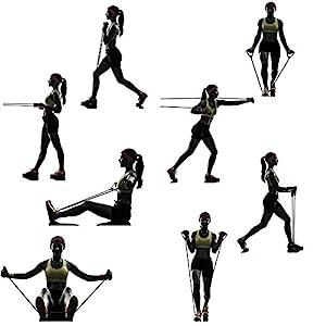 Verschiedene Expander Übungen