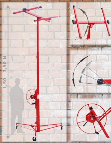 XXL Plattenheber Plattenlift Rigips Heber bis 3,50 Meter