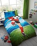 Parure de lit enfant Rotary moderne de luxe avec housse de couette et taie d'oreiller...
