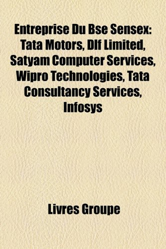 entreprise-du-bse-sensex-tata-motors-dlf-limited-satyam-computer-services-wipro-technologies-tata-co
