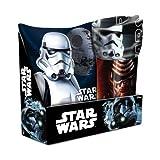 Star Wars Set mit Kissen und Fleece-Decke
