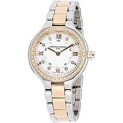 Frederique Constant Geneve Horological Smartwatch FC-281WHD3ERD2B Smartwatch Clásico & sencillo