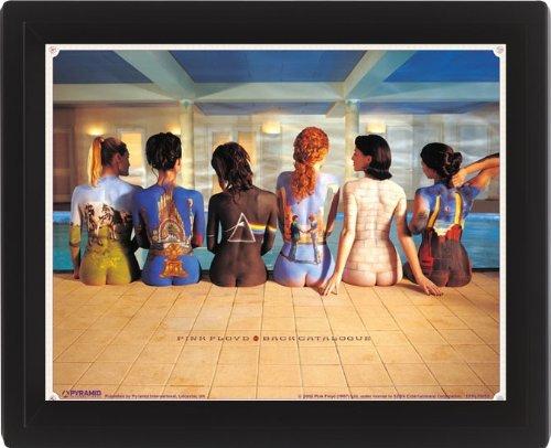 Pink Floyd Back Catalogue 10 x 8 cm Framed 3D Lenticular Poster