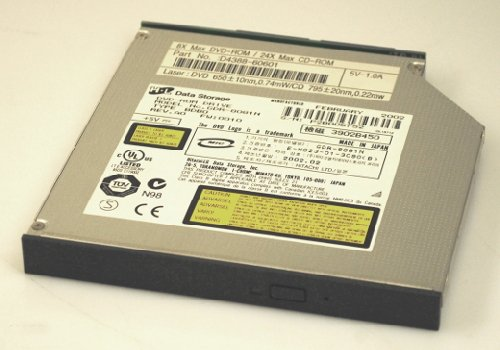 Hitachi 42 (HL Hitachi LG GDR-8081N D4388-60601 D4388 SlimLine DVD-ROM 8x DVD mit Adapter für e-PC 42)