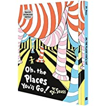 Oh, The Places You'll Go! Deluxe Slipcase edition (Dr. Seuss)