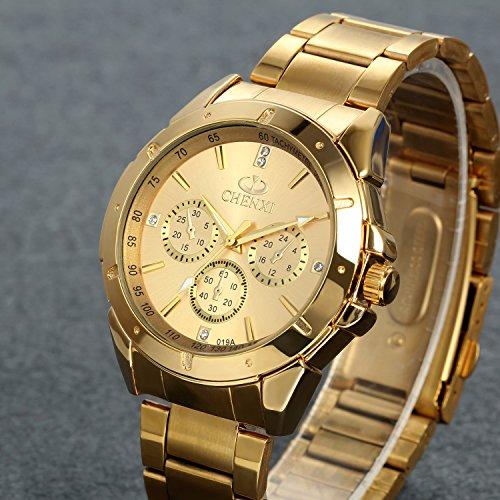 lancardo orologio da polso con cinturino in acciaio