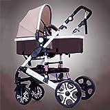 QXMEI Baby-Kinderwagen, Leichte Kinderwagen, Kinderwagen, Hochkarätige Kinderwagen, Können Sich Falten Kinderwagen Setzen,4