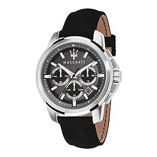 Reloj para Hombre, Colección Successo, Movimiento de Cuarzo, cronógrafo, en Acero y Cuero – R8871621006