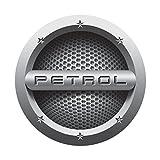 #1: Benjoy® Grey Petrol Car Fuel Lid Decal /Sticker Printed (12Cm) For Maruti Suzuki New Swift Dzire 2017