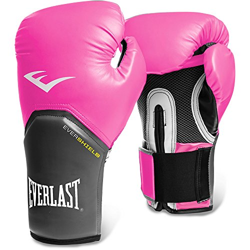 Everlast Pro Style - Guantes de boxeo, color rosa, talla 12 onzas