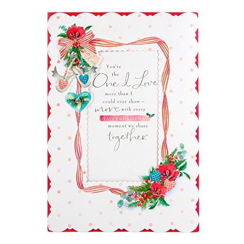 Hallmark Weihnachtskarten 'Favourite Zeit Year', groß (Zeit Hallmark Ornament)
