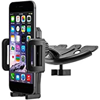 MidGard CD slot supporto auto cellulare supporto Auto universale per iPhone SE, 5, 5S, 6, 6 Plus, 6, 7, 7 Plus / Samsung Galaxy S5, S6, S7, S7 Bordo, Note 4, Note Edge / Huawei P8, P9, Lite Plus / Sony Xperia Z3, Z5, Premium e Compatto, XZ, X / HTM M8, M9, M10, e andenre mobile phone, Smartphone, Phablet, dispositivi di navigazione - Universale Mini Cooper